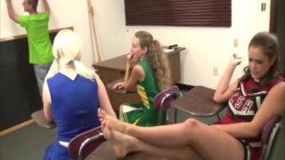 Cheerleader Handjob Pageant